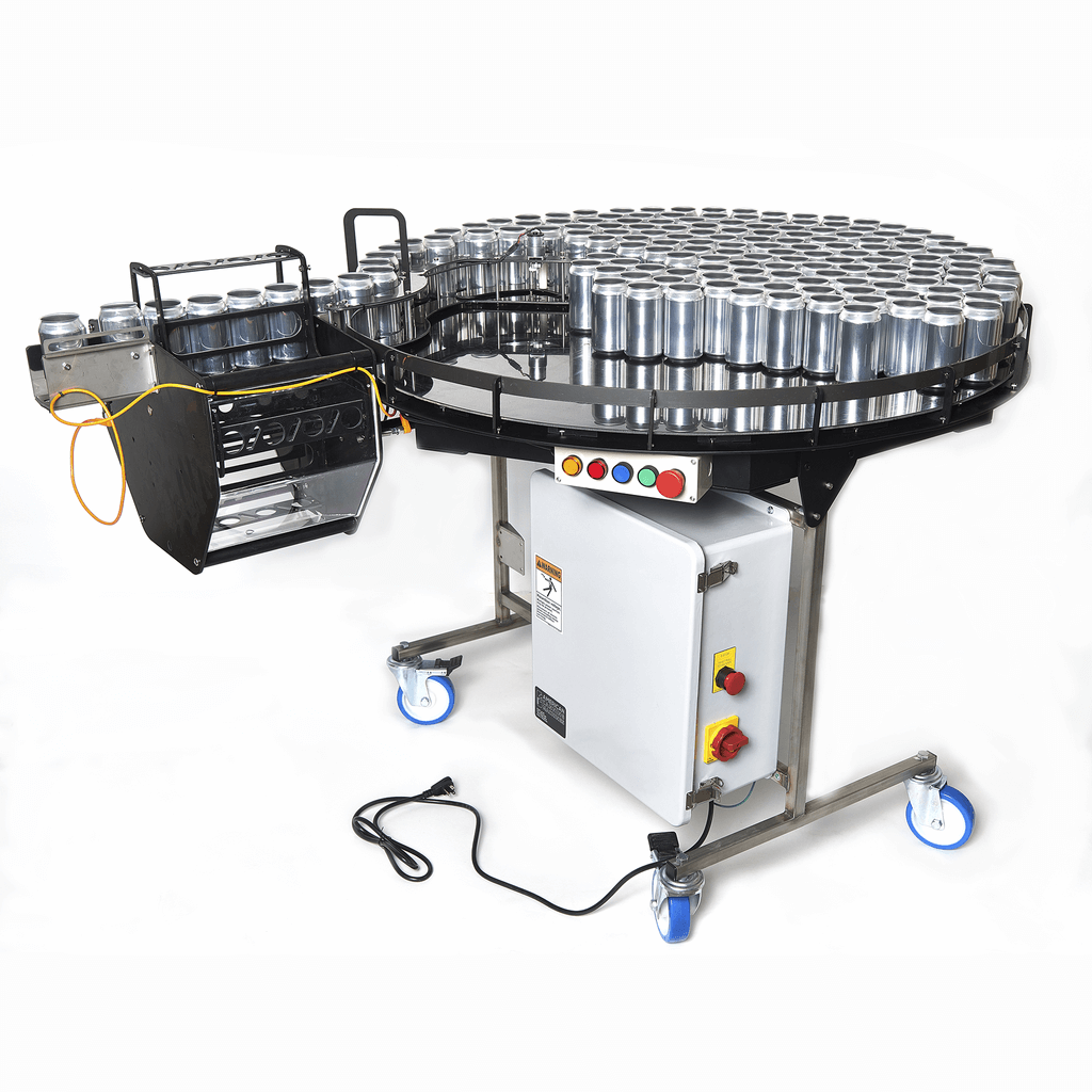 rotary infeed/outfeed table