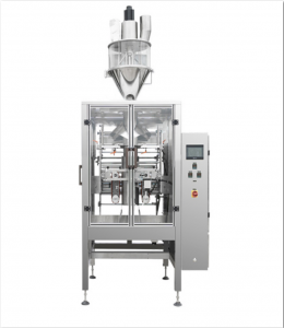 Vertical-form-fill-seal-machine-with-auger-filler-for-powder-packing
