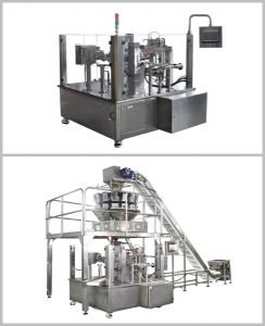 pouch filling machine image