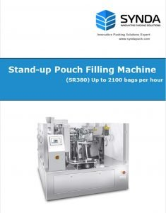 SR380 Stand-up Pouch Filling Machine Brochure