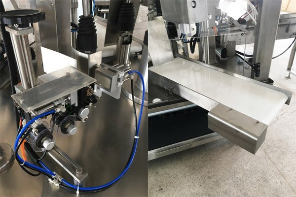 SR380 Stand-up Pouch Filling Machine Demo1